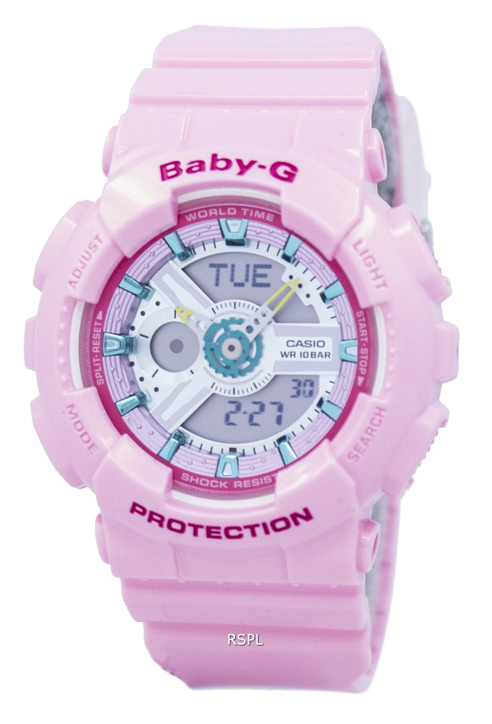 Casio Baby-G Analog Digital World Time BA-110CA-4A Womens ...