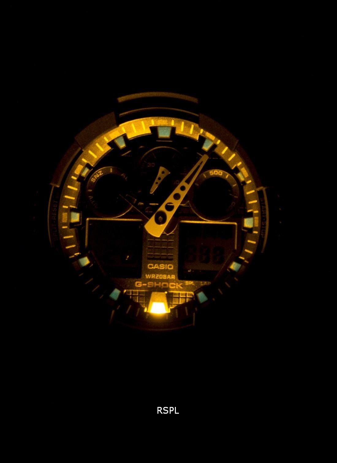 Casio-G-Shock-Velocity-Indicator-Alarm-GA-100-1A4-GA100-1A4-Mens-Watch 縮圖 2