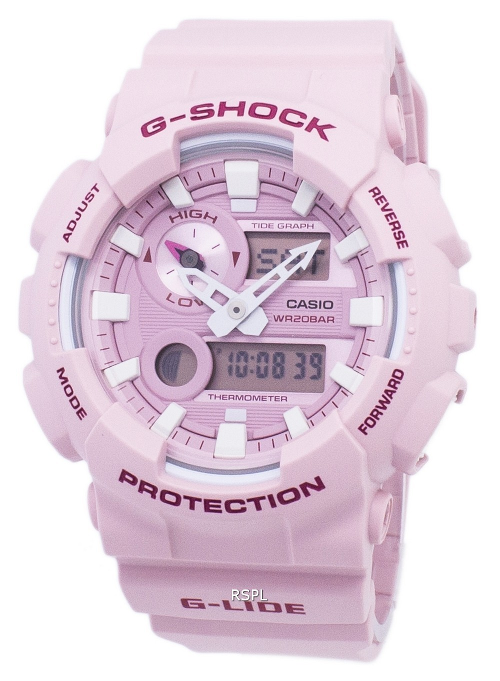 308226cc1911 Casio G-Shock G-Lide Tide Graph Analog Digital GAX-100CSA-4A GAX100CSA-4A  Men s Watch