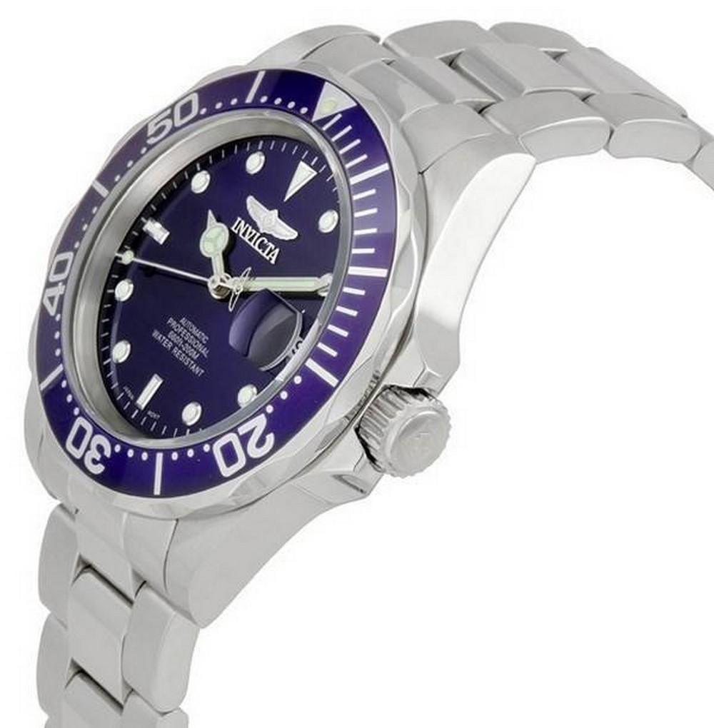 Invicta-Pro-Driver-Automatic-Blue-Dial-INV9094-9094-200M-Mens-Watch miniature 3