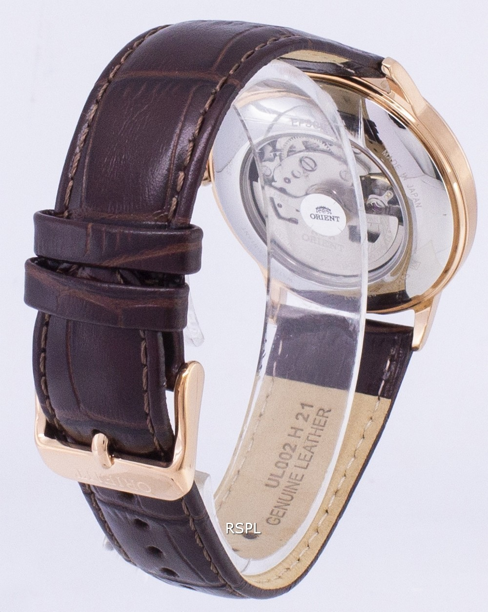 Orient-Analog-Automatic-Japan-Made-RA-AC0001S00C-Men-039-s-Watch thumbnail 3